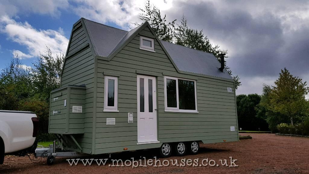 luxury tiny house. Luxury Tiny House Eco Home. On Wheels