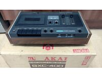 Vintage Akai GXC-40D tape deck