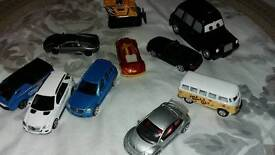 10 toy cars