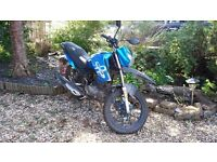 PROJECT BIKE: LEXMOTO ASSAULT 125 NEEDS FIXING BUT OTHERWISE PERFECT BEGINNER BIKE LOW MILAGE