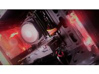 New Quad Core Gaming PC with Windows 10