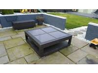 Ex Dobbies Table and 2 x benches