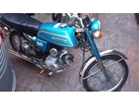 suzuki AP50 1977 original unrestored RARE moped