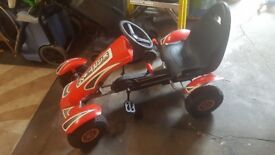 Go Kart Racing Car Lovely Condition