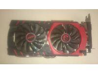 MSI Geforce GTX 980Ti Gaming 6G Graphics Card.