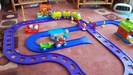 Happy Street Farm and Train Set