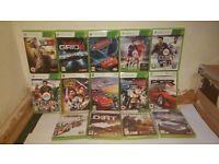 Xbox 360 14 games bundle
