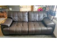 2 & 3 Seat Leather Sofa