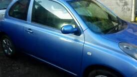 Nissan micra urbis 2005 immac new mot no advisories one owner rev sonsors nice car £895