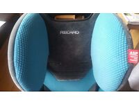 Stage 3 Recaro car seat with Prince Lionheart protector