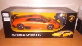 Radio controlled Lamborghini Murcielago