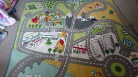 Child's Road Play Mat