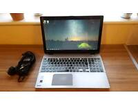 "TOSHIBA Satellite U50t intel i5 4th gen 15.6"" TOUCH SCREEN 128GB SSD ULTRABOOK lit keyboard"