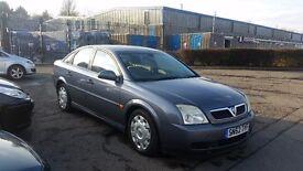 2002 (52 Reg) Vauxhall Vectra 2.0 DTi 16v LS 5dr For £595, Mot'd until Jan 2018!!!
