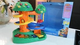 BOXED LARGE VTECH DISCOVERY TREE 12-36 MONTHS-MUSICAL & LIGHTS UP RRP£47.00