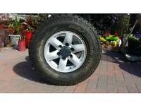 "15"" alloy wheels &tyres to fit Ranger"