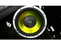 Fusion 12 inch sub speaker