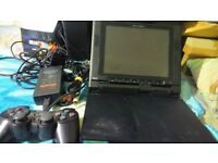 ps2 console and joytech ps2 tv