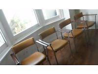 Set of 4 1970's vintage chairs FREE DELIVERY