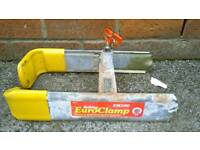 Euro clamp fully working with 2 keys in used condition! can deliver or post