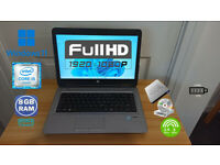 HP FULL-HD WIN 11 LAPTOP (INTEL CORE i5, 8GB, 256GB)