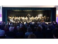 BBC Elstree Concert Band looking for a Drummer (with their own kit) and a String Bass Player