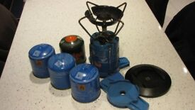 Camping Stove and Gas Canisters