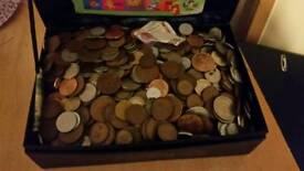 13kg of mixed world coins