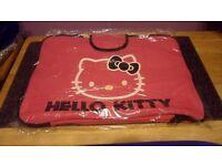 """Job Lot of 12 Hello Kitty Pink Neoprene & Foam Padded 15"""" Laptop Case."""