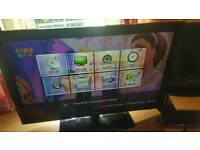 "LG 37"" lcd HD TV built in Freeview"