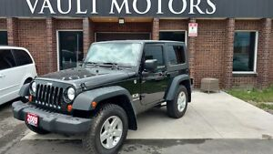 2009 Jeep Wrangler LEATHER SPORT NO ACCIDENTS