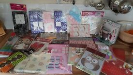 Large job lot cupcake wraps, boxes and treat bags