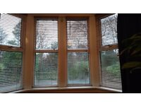 Wooden blinds x4 all fixings included