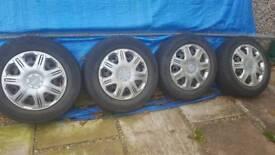 Vivaro traffic primera wheels and tyres