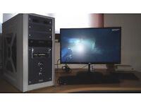 Intel Core i3-3220 4 threads GeForce GTX 570 8GB RAM 500GB HDD DVDRW W10 perfect condition!