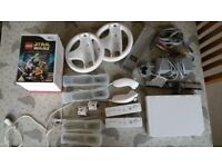 Nintendo Wii + Accessories/Games Bundle for sale