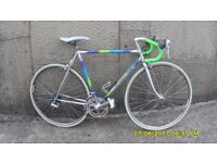 FRENCH RACING BIKE 14sp LIGHTWEIGHT 21in/54ccm COLUMBUS TUBE FRAME V/CLEAN JUST SERVICED