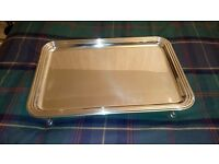 Mepra Palace rectangular tray Silver (New)