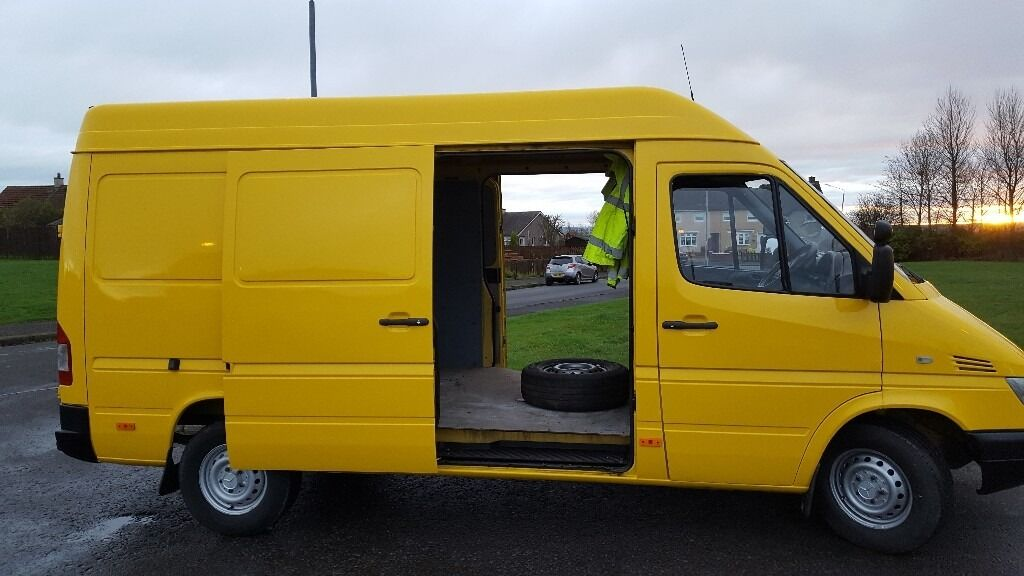 Mercedes Benz Sprinter 313 Cdi 2005 Mwb High Roof Double Sided