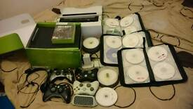 Xbox 360 with over 170 games and kinect plus lots of extras
