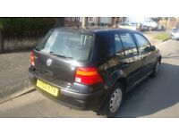 2002 golf 1.6 petrol/gas long mot Good Mileage. no time wasters please 850 ono