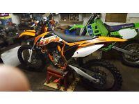 KTM 350 sxf trials bike