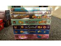 simpsons five boxsets collection