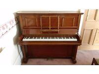 Douglas & Co. Upright Piano - free to good home! Dumbarton