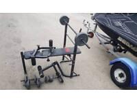 Pro power lifting bench