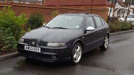 Seat Leon Cupra TDI (150) - LHD - (LEFT HAND DRIVE) + 2003/53 + UK REG + 1 OWNER +