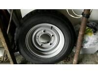 New Tyre and Wheel Rim