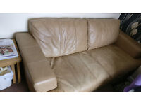 Leather Sofa Brown