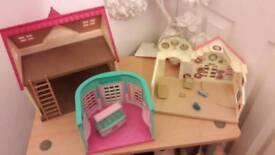 Sylvanian house and nursery