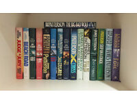 James Patterson Hardback books